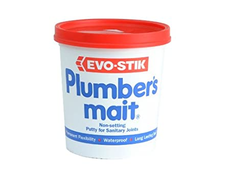 Evo Stik Plumbers Mait 750g 456006 1870320-HHW B0001P03TM Fixings and Hardware Items Lubricants - Sealants and Hand Cleaners Plumber Sealants