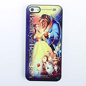 LCJ Beauty and The Beast Pattern Metal Hard Case for iPhone 4/4S by icecream design