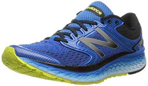 New Balance Men's M1080v7 Running Shoe, Electric Blue/Hi Lite, 11 D US
