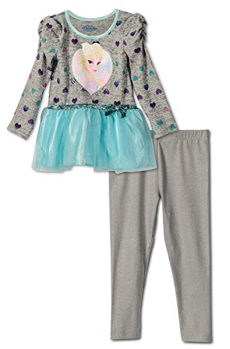 Frozen Outfits (Disney Frozen Toddler Girls Outfit , Size 3T)
