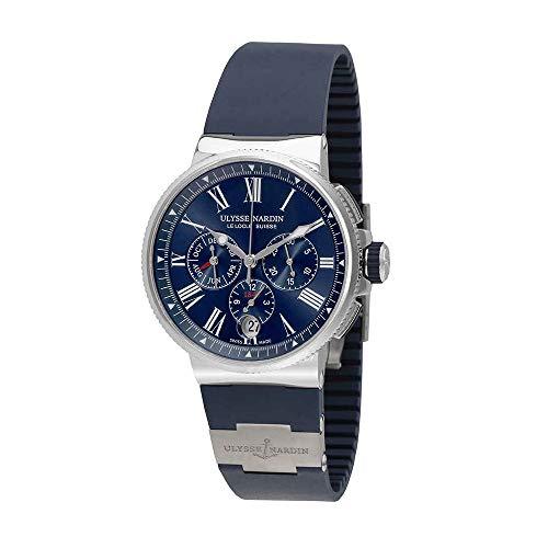 Ulysse Nardin Marine Chronograph Automatic Men's Watch 1533-150-3/43