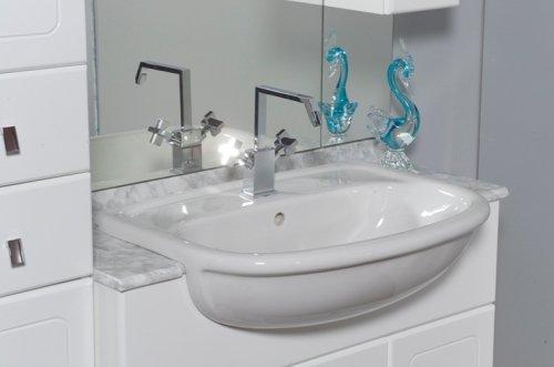 mobili bagno obi mobili arredo bagno bianco mobile sospeso