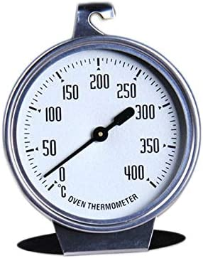 0-400 Degree High-grade Stainless Steel Thermometer Large Ov