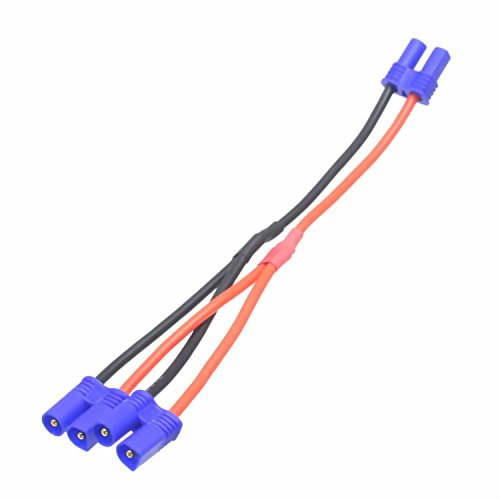 EC2 Parallel Battery Harness 1F2M wire 18# Wire 4