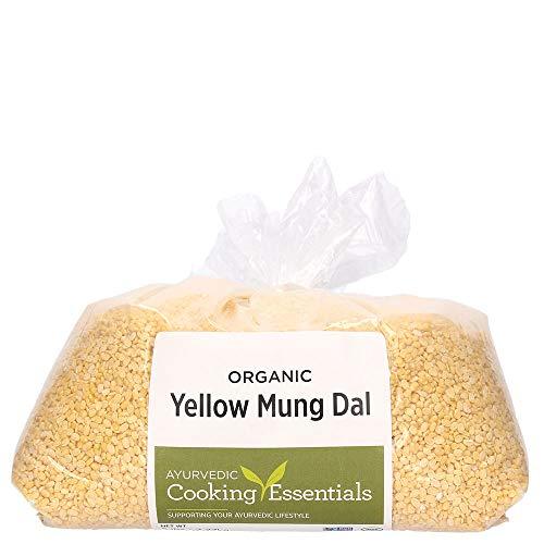 Banyan Botanicals Organic Yellow Mung Dal - Certified USDA Organic - Non GMO - Vegan - GF - Ayurvedic Food for Kitchari & Cleansing, 5 lbs