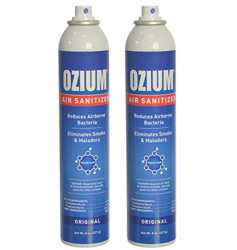 Ozium Air Sanitizer Reduces
