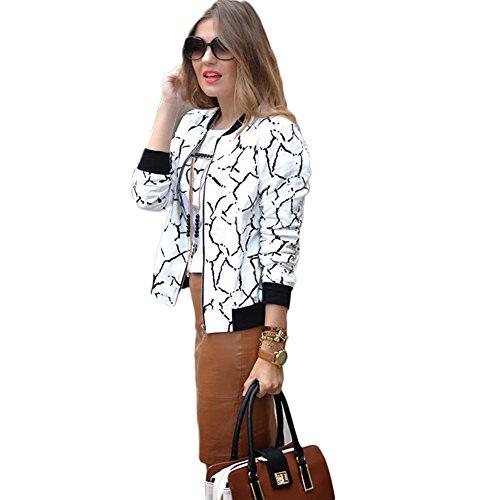 Classique Moshow Femme Manteau Veste imprim 5wFRq