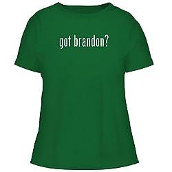 Bh Cool Designs Got Brandon Cute Women S Graphic Tee Green X Large