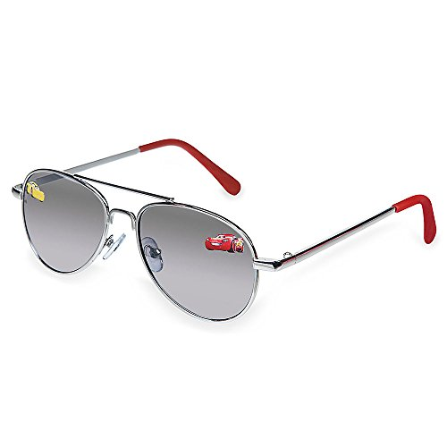 Disney Store Boys Cars Lightning Mcqueen Sunglasses 100% UV Aviator -