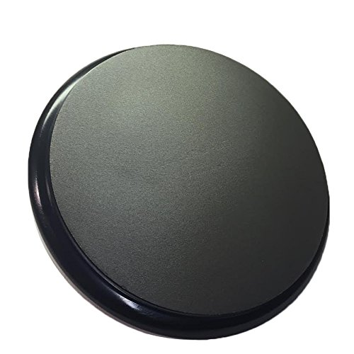 Black padded bucket lid by Bucket (Black Ball Bucket)