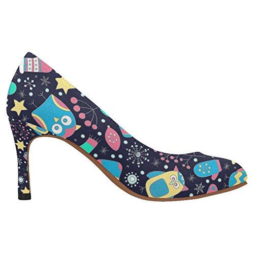 InterestPrint Womens Fashion High Heel Dress Pump Shoes Multi 9 T7qBRZyUqB