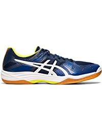 ASICS Gel Tactic Mens Indoor Court Shoe (Blue Expanse/White)