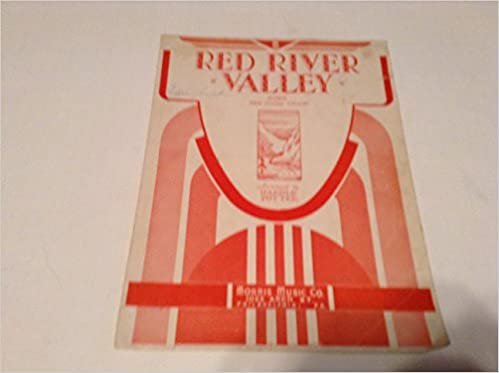 Amazon.com: RED RIVER VALLEY SONG WITH GUITAR CHORDS SHEET MUSIC ...