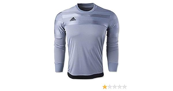 Amazon.com : Adidas Youth Entry 15 Goal Keeper Grey Jersey-YS ...