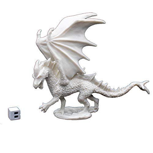 Reaper 77026: Young Fire Dragon - Dark Heaven Legends Bones -