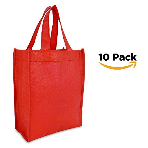 DALIX Shopping Resuseable Children Red 10