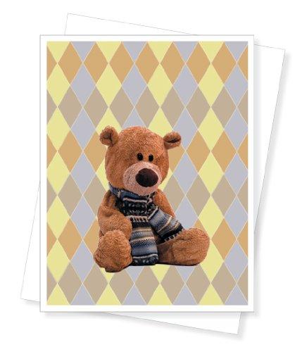 Teddy Bear, New Baby Greeting
