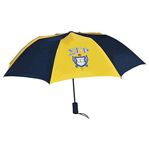Sigma Gamma Rho Crest Umbrella