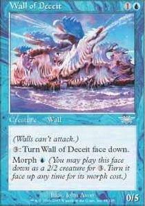 20 Wall Year Blue - Magic: the Gathering - Wall of Deceit - Legions