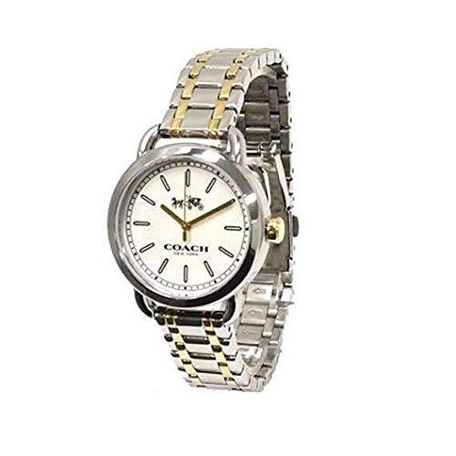 Coach Gold Watch - Coach Women's Lexington Boyfriend Two Tone Gold/Silver Stainless Steel Watch, 32mm