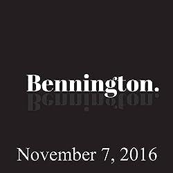 Bennington, November 7, 2016