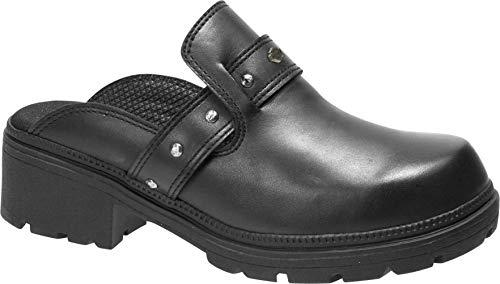 HARLEY-DAVIDSON Women's Elsie Sneaker Black 08.0 M US