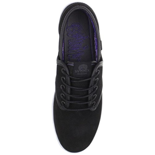 Osiris Skate Shoes --EU-- Black/Purple/Shock