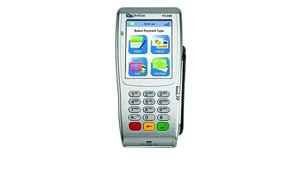 Amazon com : VeriFone vx680 Wireless GPRS Terminal- with Smart Card