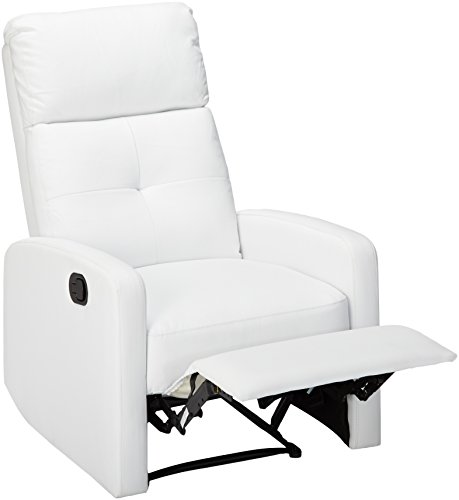 Great Deals On Furniture Online: Great Deal Furniture Teyana White Leather Recliner Club
