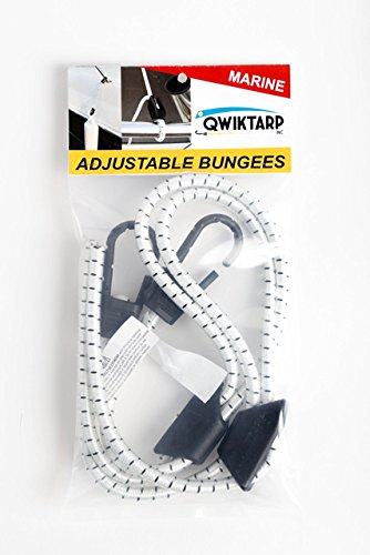 Qwiktarp Adjustable Marine Bungee by Qwiktarp Inc. (Image #3)