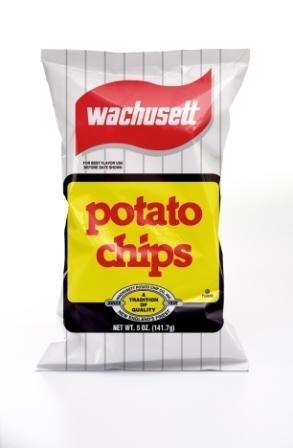 Wachusett Potato Chips, 5-Ounce Bags (12 pack) made in Massachusetts