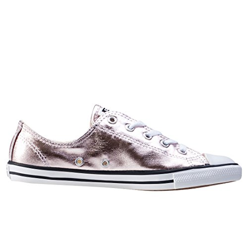 Rose Star Converse Dainty Quartz Black White Trainers All Ox ppF5Xq