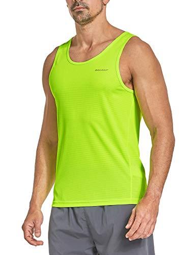 Baleaf Men's Athletic Tank Top Quick-Dry Running Shirt Green Size XXXL