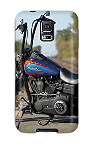 Jonathan Litt's Shop Hot Harley-davidson Dyna Street Bob First Grade Tpu Phone Case For Galaxy S5 Case Cover
