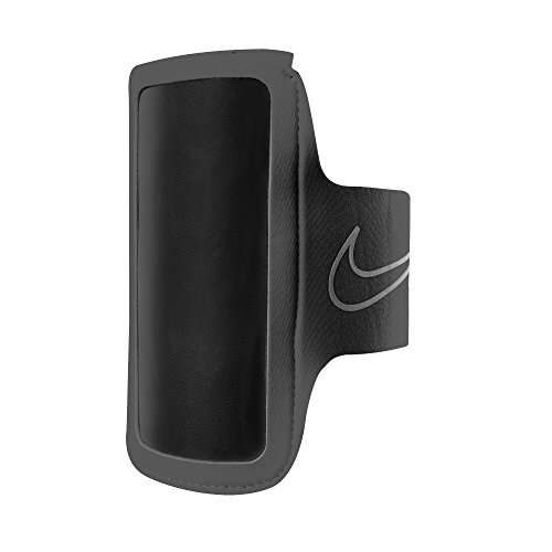 Nike Lightweight Cellphone Armband 2.0 (One Size) (Black/Silver) -