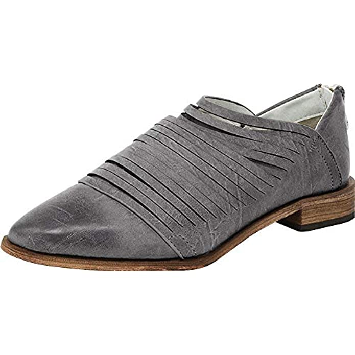 ARIDER Womens Oxford Classic Fashion Low Heel Carving Dress Shoes - Alana Navy