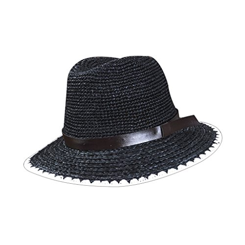 Lizhiqiang Visor Viaje Gorra Negro color Femenino Casual Sombrero Grande Salvaje Negro Playa De wSrgZw4q