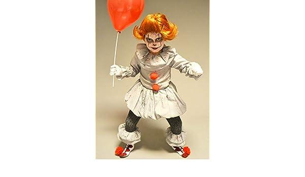 Magic Box Disfraz de Pennywise Gray It Clown Style con Peluca para ...