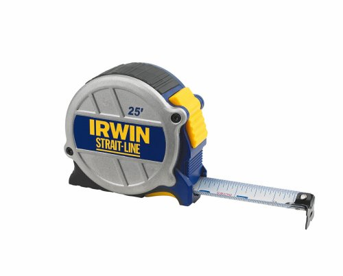 Strait Pencil Carpenters Line (Irwin 2121600 Strait-Line 25-Foot Tape Measure)