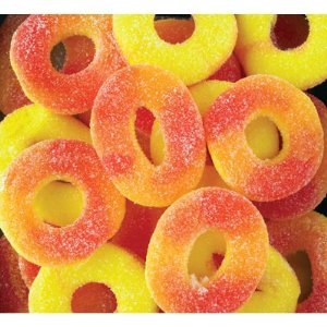 melon candy bag gummy rings