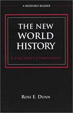 Amazon the new world history a teachers companion bedford the new world history a teachers companion bedford reader first edition fandeluxe Gallery