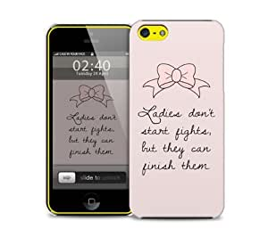 marie quote iPhone 5c protective phone case