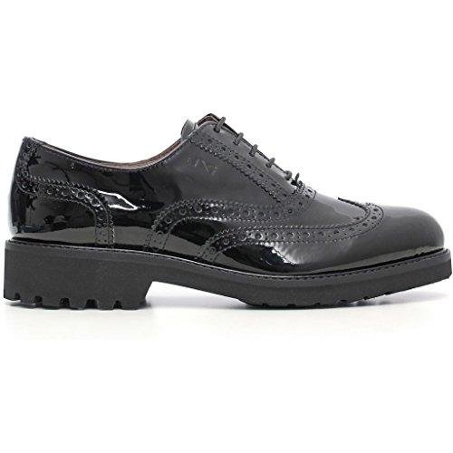Nero Giardini - Zapatos de cordones para mujer Vernice Nero