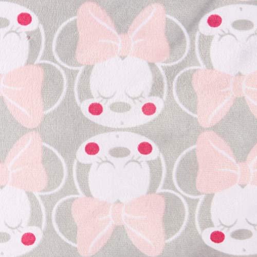 Amazon.com: Disney Minnie Mouse Mink and Sherpa - Manta de ...