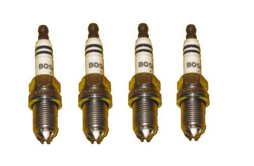 Bosch Plugs - 4 Piece Set of Bosch OEM Spark Plug # 0242236562 / FGR7DQP+ / 4417 - BMW - NEW Platinum Iridium