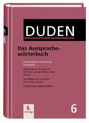 Duden, Band 6: Das Aussprachewörterbuch