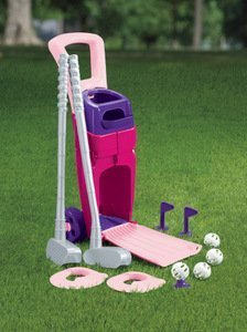 American-Plastic-Toys-Junior-Pro-Girls-Golf-Set
