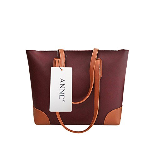 pour grand Anne femme D volume Red main Sac à n77qPUXA