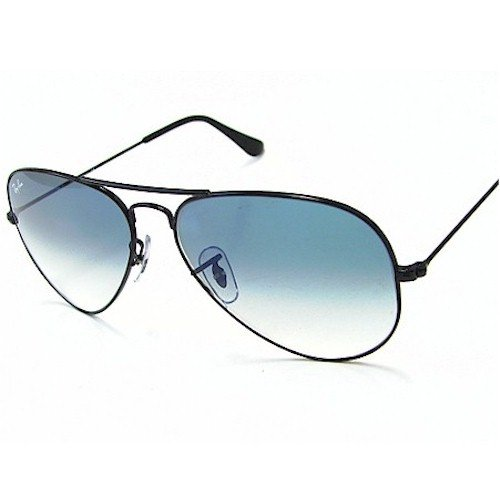 18d6e80bf35 Ray-Ban Aviator Sunglasses (Black) (RB3025 002 3F)  Ray-Ban  Amazon.in   Clothing   Accessories