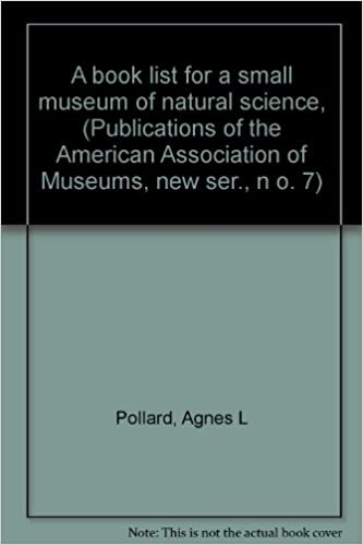 A Book List for a Small Museum of Natural Science